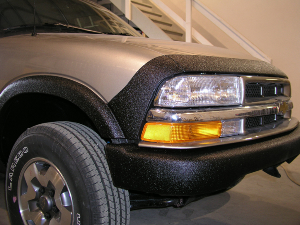 Blazer Front Bumper After LINE-X